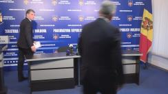 Conferință de presă organizată de Procuratura Generală despre reținerea Consulului general al Republicii Moldova din Istanbul