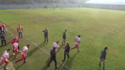 Meciul de Rugby între CS Dinamo București - CS Politehnica Unirea Iași. Cupa Regelui 2016, meci baraj pentru calificarea în semifinale