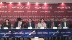 """Conferință de presă cu tema """"Prezentarea Raportului cu privire la analiza cadrului funcțional și actelor normative privind formalizarae, consolidarea, și eficientizarea activității mediatorului comunitar"""""""