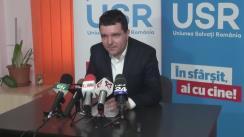 Conferință de presă despre finanțarea campaniei electorale a Uniunii Salvați România