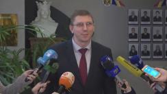 Briefing organizat de Centrul Național Anticorupție și Procuratura Anticorupție privind operațiunea desfășurată astăzi