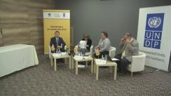Ședința Clubului de presă organizat de PNUD, în parteneriat cu Ministerul Mediului și Programul de Granturi Mici al Facilității Globale de Mediu, pe tema schimbărilor climatice