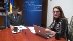 """""""De vorbă cu Ministrul tău"""" – inițiativă MCPDC. Invitat Mircea Dumitru, Ministrul Educației Naționale și Cercetării Științifice. Moderator Maria Smarandache, consilier de presă MCPDC"""