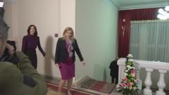 Briefing susținut de ministrul Sănătății, Ruxanda Glavan, Prințesa Moștenitoare Mary a Danemarcei, și directorul regional OMS pentru Europa, Zsuzsanna Jakab