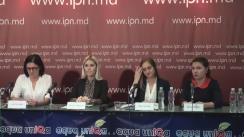 """Conferință de presă organizată de Clinica Juridică Universitară și Asociația """"Pro Femei"""" cu tema """"Barierele și necesitățile femeilor cu dizabilități din Republica Moldova"""""""