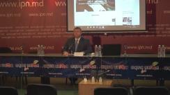 """Conferință de presă susținută de Vadim Brînzan și reprezentanții Diasporei cu tema """"Demers pentru modificarea Сodului Electoral în vederea asigurării respectării drepturilor cetățenilor"""""""