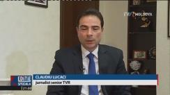 Dodon Igor, președintele ales al Republicii Moldova, interviu exclusiv la postul public de televiziune din România, TVR1