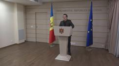 Declarațiile lui Vadim Pistrinciuc în timpul ședinței Parlamentului Republicii Moldova din 25 noiembrie 2016