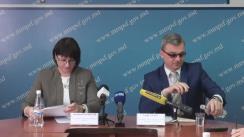 """Conferință de presă cu tema """"Asigurarea drepturilor persoanelor cu dizabilități: realizări și perspective pentru Republica Moldova"""""""