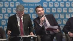 """Conferința """"Deficitul de angajați calificați! Cum pot fi reînviate școlile profesionale din România?"""""""