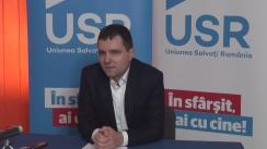 Conferința de presă susținută de Nicușor Dan care va prezenta poziția USR față de propunerea privind amnistia fiscală și penală susținută de Partidul România Unită, unul dintre sateliții PSD, partid care-l susține pe Victor Ponta pentru poziția de prim-ministru