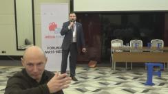 """Forumul Mass-Media. Side event """"Inovațiile în jurnalism"""""""