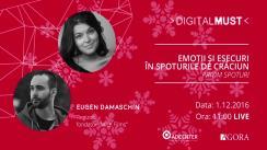 DigitalMUST cu Eugen Damaschin și Daniela Donici despre Spoturi de Crăciun
