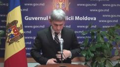 Declarațiile lui Alexandru Jizdan după ședința Guvernului Republicii Moldova din 1 decembrie 2016