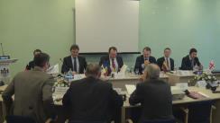 """Masa rotundă organizată de Curtea Constituțională a Republicii Moldova cu tema """"Rolul curților constituționale în soluționarea crizelor constituționale"""""""