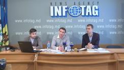 """Conferință de presă cu tema """"Replica activistului civic, Anatolie Stepuleac, la linșajul mediatic întreprins de """"surse media"""""""