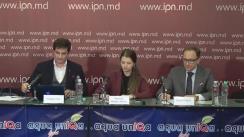 """Conferință de presă susținută de Dumitru Vicol, reprezentant al Diasporei, cu tema """"Dinamica procesului de judecată Diaspora vs Moldova"""""""