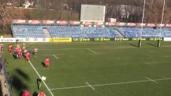 Meciul de Rugby între CS Dinamo București - CSM București. Cupa Regelui 2016, finala mică