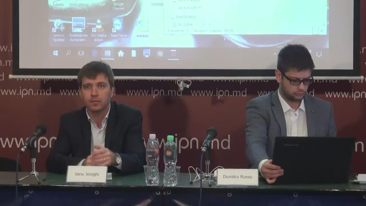 """Conferință de presă organizată de Institutul pentru Drepturile Omului din Moldova cu tema """"Rezultatele monitorizării turului I și II al alegerilor prezidențiale din Republica Moldova în instituțiile psihiatrice din țară"""""""