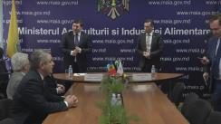 Semnarea Programului cadru de suport al Organizației Națiunilor Unite pentru Alimentație și Agricultură (FAO) în Moldova pentru perioada 2016-2019