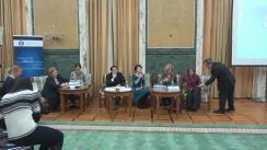 """Evenimentul """"Rezultate și provocări în domeniul transparenței – condiție esențială pentru măsuri eficiente în politicile anti-corupție în România"""""""