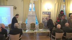 """Dezbaterea """"Drept istoric versus referendum. România și Republica Moldova: opțiuni politico-strategice"""""""