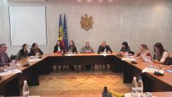 """Ședința de lucru în vederea identificării acțiunilor de revizuire a Strategiei de dezvoltare a societății civile pentru anii 2012-2015. Prima ședință a subgrupului II """"Promovarea și consolidarea durabilității financiare a societății civile''"""