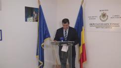 Conferință de presă susținută de Președintele Executiv al PMP, Eugen Tomac, și Constantin Codreanu, cu ocazia prezentării unor detalii importante referitoare la alegerile parlamentare din România din 11 decembrie 2016