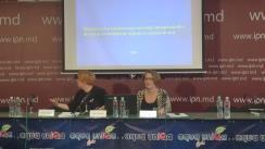 """Conferință de presă cu tema """"Lansarea Raportului """"Monitorizarea transparenței întreprinderilor de stat și societăților pe acțiuni cu capital de stat din Republica Moldova"""""""