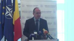 Conferință de presă susținută de Ambasadorul României în Republica Moldova, Daniel Ioniță, dedicată organizării alegerilor parlamentare din România, din 11 decembrie 2016