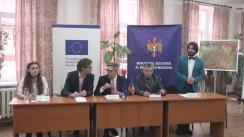 Lansarea primei platforme online în domeniul Învățământului Profesional Tehnic (ÎPT) www.ipt.md
