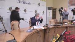 Ședința săptămânală a serviciilor primăriei Chișinău din 12 decembrie 2016