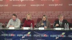 """Conferință de presă cu tema """"Societatea civilă solicită menținerea Ministerul Mediului în componența noii structuri a Guvernului Republicii Moldova"""""""