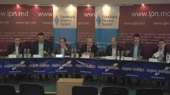 """Dezbateri publice cu tema """"Republica Moldova la răscruce de ani politici"""""""