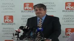 Conferință de presă despre situația datoriilor Primăriei Municipiului București și a împrumutului de 800 de milioane de euro solicitat de Primarul General