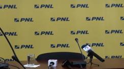 Conferință de presă cu Președintele Comisiei de Apărare și securitate a PNL, Corneliu Dobrițoiu, și coordonatorul național al comisiilor de specialitate ale PNL, deputatul Radu Stroe