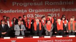 Întrunirea organizației UNPR București