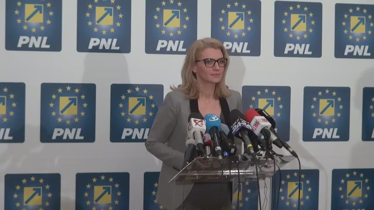 Declarații de presă susținute de Președintele Partidului Național Liberal, Alina Gorghiu