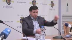 Declarațiile lui Mihai Moldovanu după Ședința săptămânală a serviciilor primăriei Chișinău din 12 decembrie 2016
