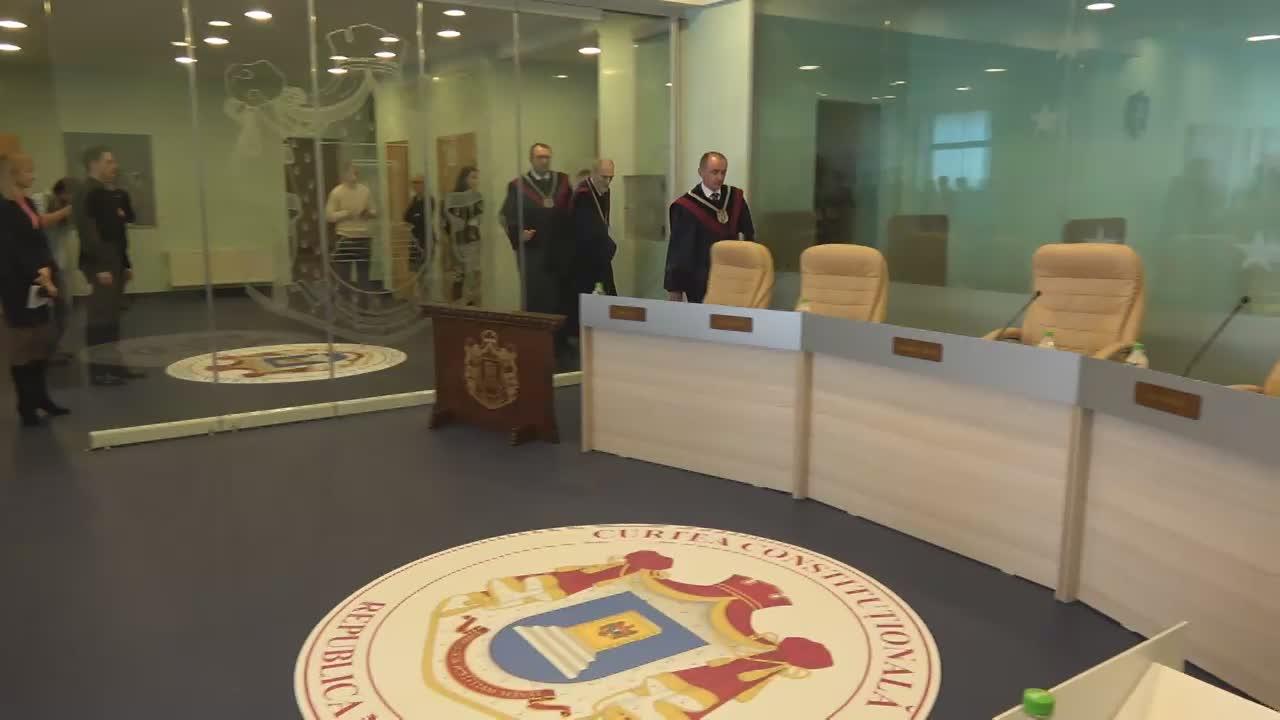 Ședința Curții Constituționale a Republicii Moldova privind validarea scrutinului prezidențial