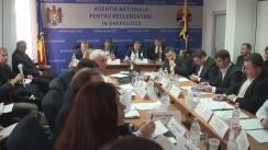 Ședința Consiliului de Administrație al ANRE de examinare a trei proiecte de regulamente