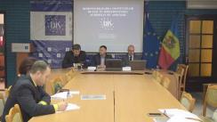 """Lansarea Policy Brief """"Responsabilizarea instituțiilor de stat în implementarea Acordului de Asociere în ce mod reușește Republica Moldova sa-și promoveze interesele economice pe extern?"""""""