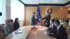 Semnarea Acordului de întelegere dintre Ministerul Mediului al Republicii Moldova și Agentia Cehă pentru Dezvoltare Praga