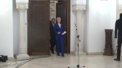 Declarații de presă susținute de reprezentanții PNL, după consultările cu Președintele Klaus Iohannis
