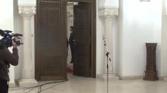 Declarații de presă susținute de reprezentanții PMP, după consultările cu Președintele Klaus Iohannis