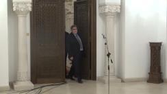 Declarații de presă susținute de reprezentanții Grupului parlamentar al minorităților naționale, după consultările cu Președintele Klaus Iohannis