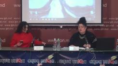 """Conferința de presă cu tema """"Familia Gasparean-Davitean a devenit victima intrigilor politice"""""""