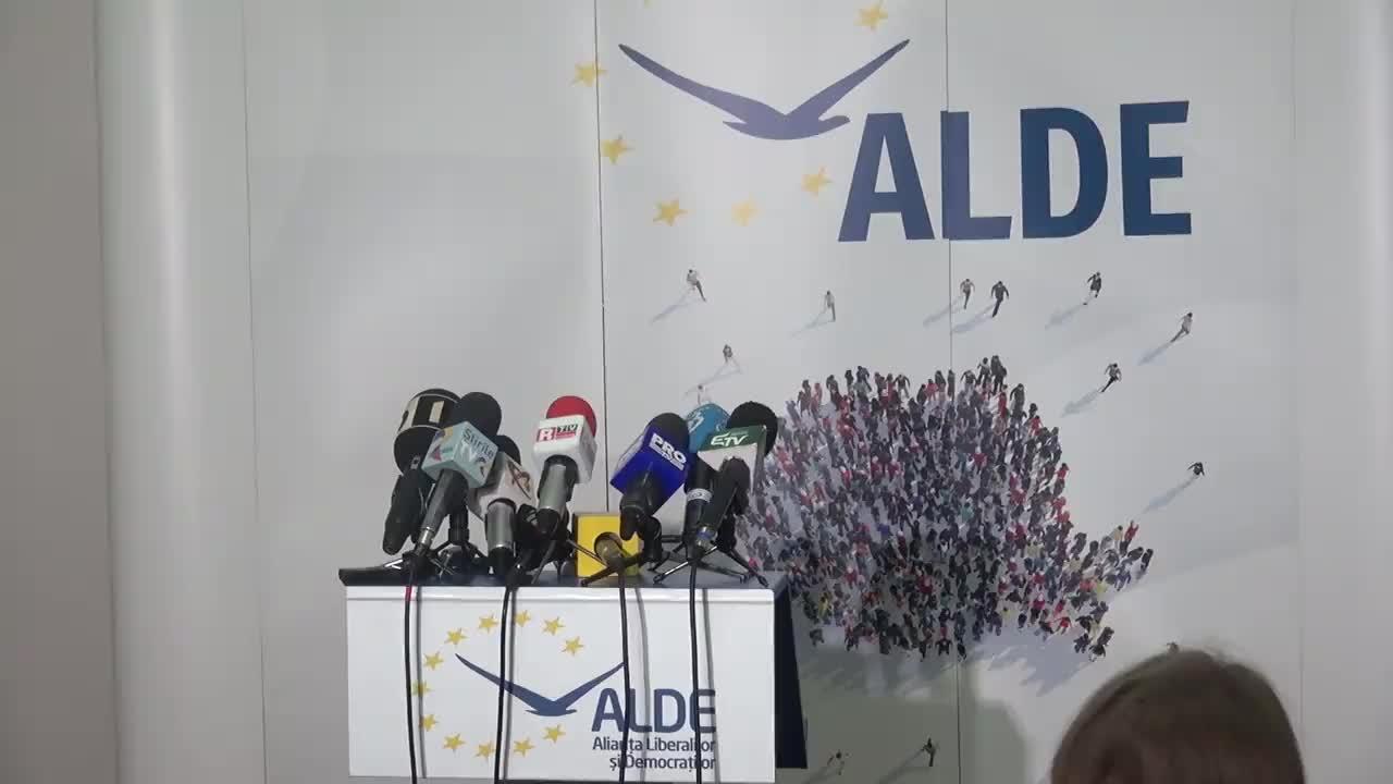 Conferință de presă susținută de copreședinții ALDE, Călin Popescu-Tăriceanu și Daniel Constantin