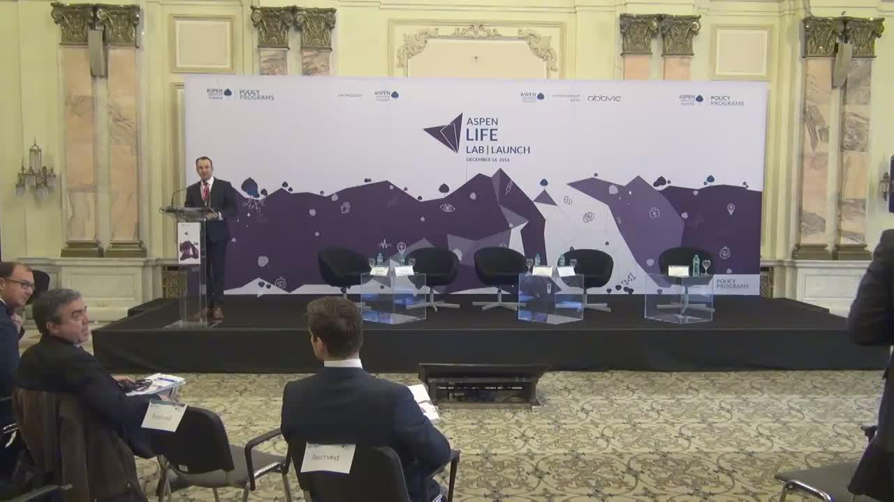 Conferința de lansare a proiectului Aspen Life Lab, eveniment organizat de Institutul Aspen România