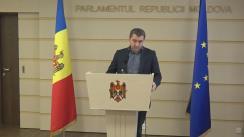 Declarațiile lui Lilian Carp în timpul ședinței Parlamentului Republicii Moldova din 16 decembrie 2016